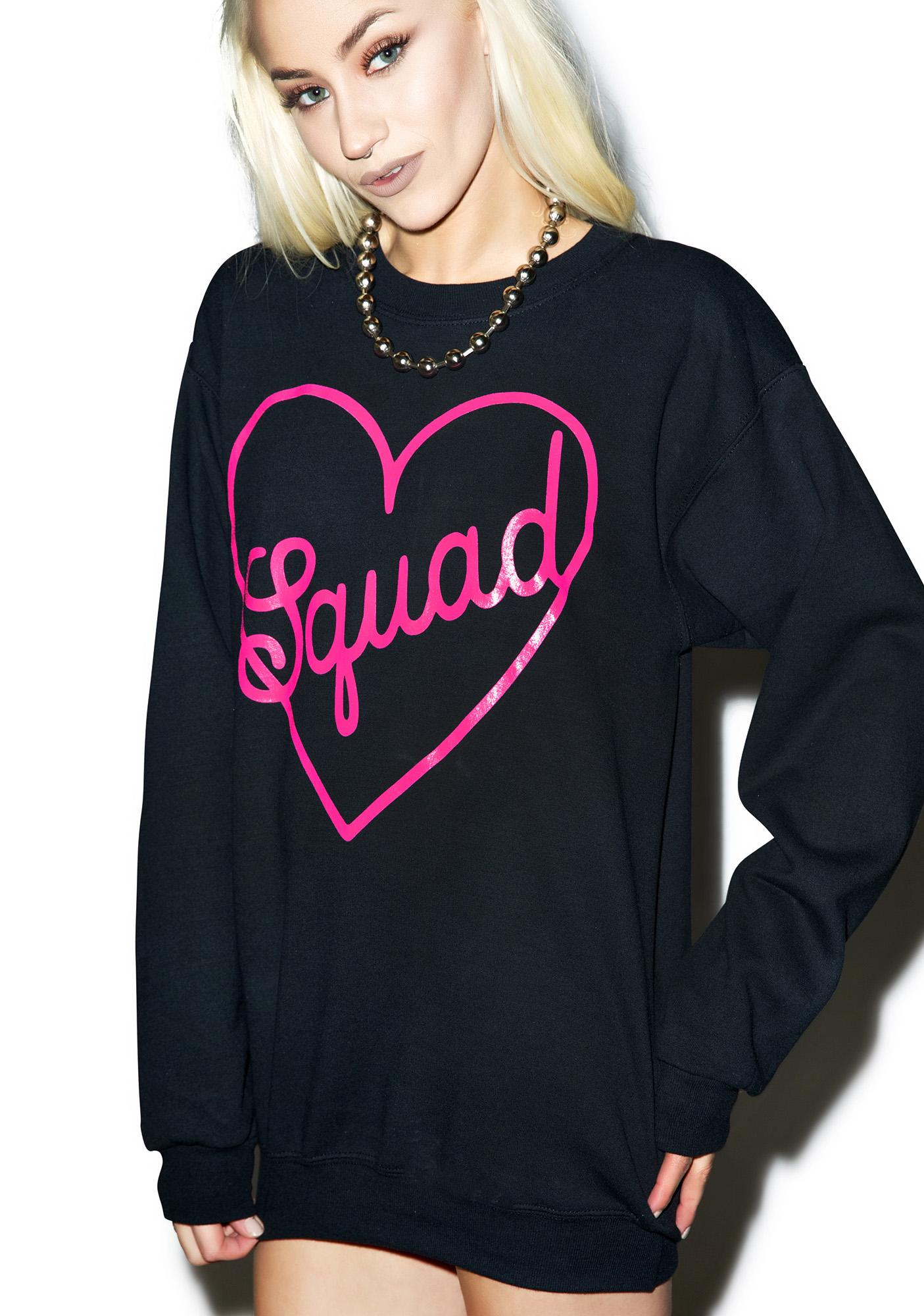 Petals and Peacocks Squad Goals Sweatshirt Set