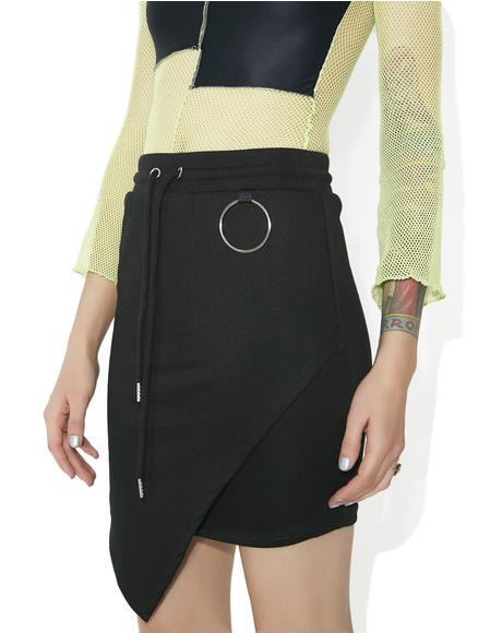 Collateral Damage Asymmetrical Skirt