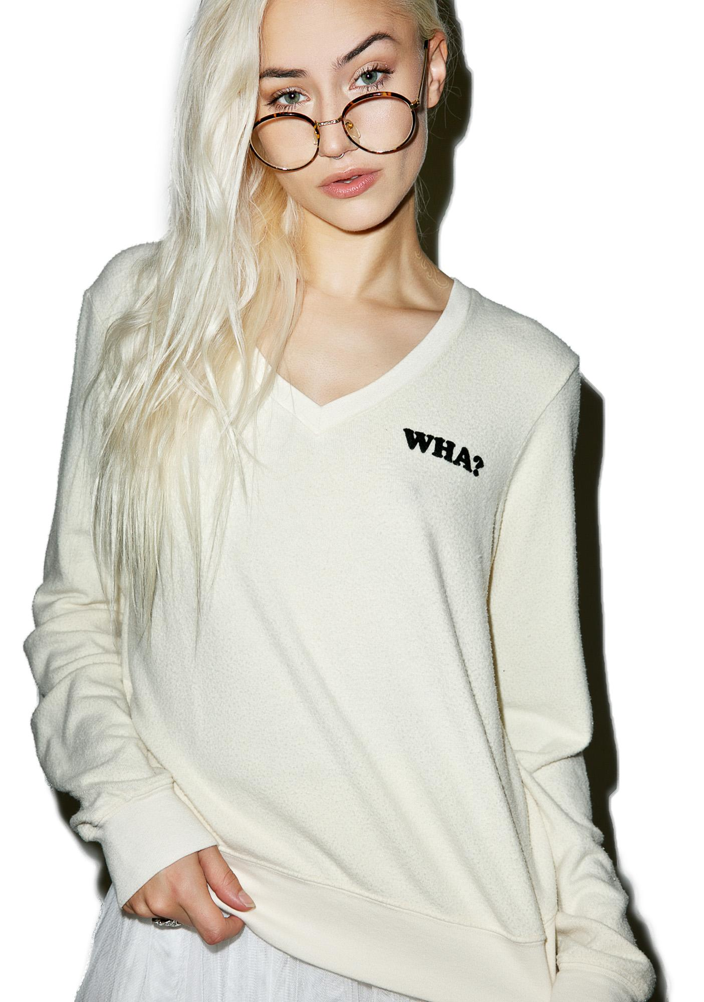 Wildfox Couture WHA? Baggy Beach V