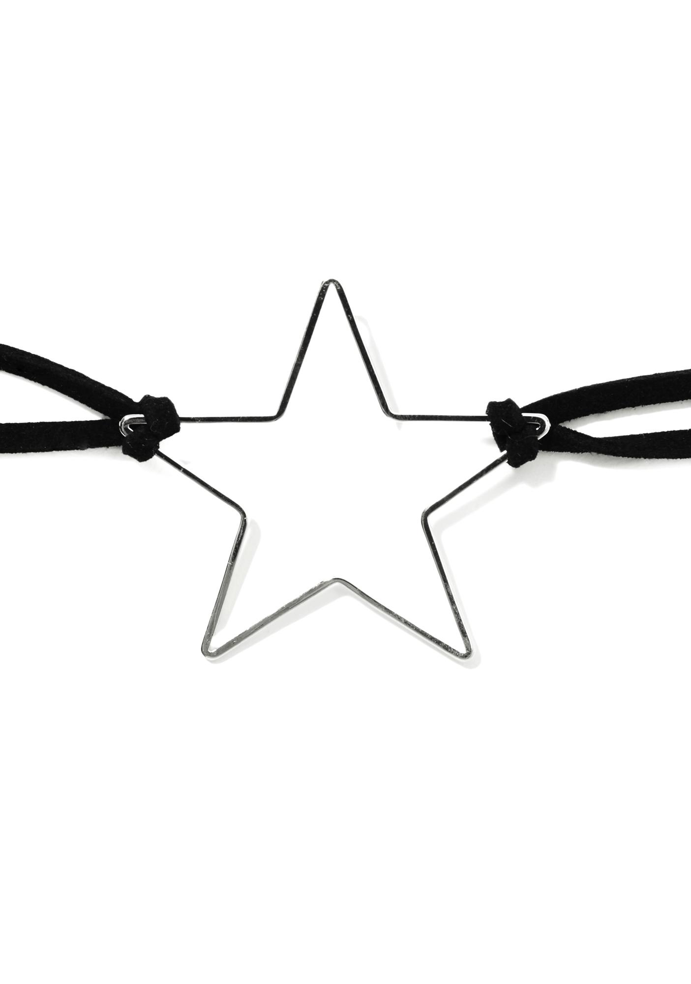 Night Sky Star Choker