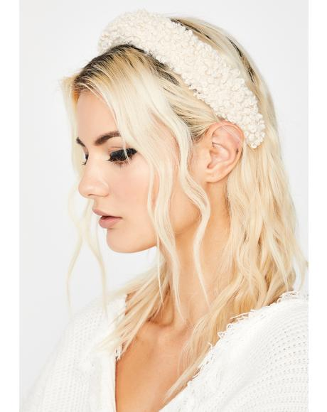 Teddy Talk Sherpa Headband