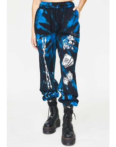 Oldest Trick Tie Dye Sweatpants