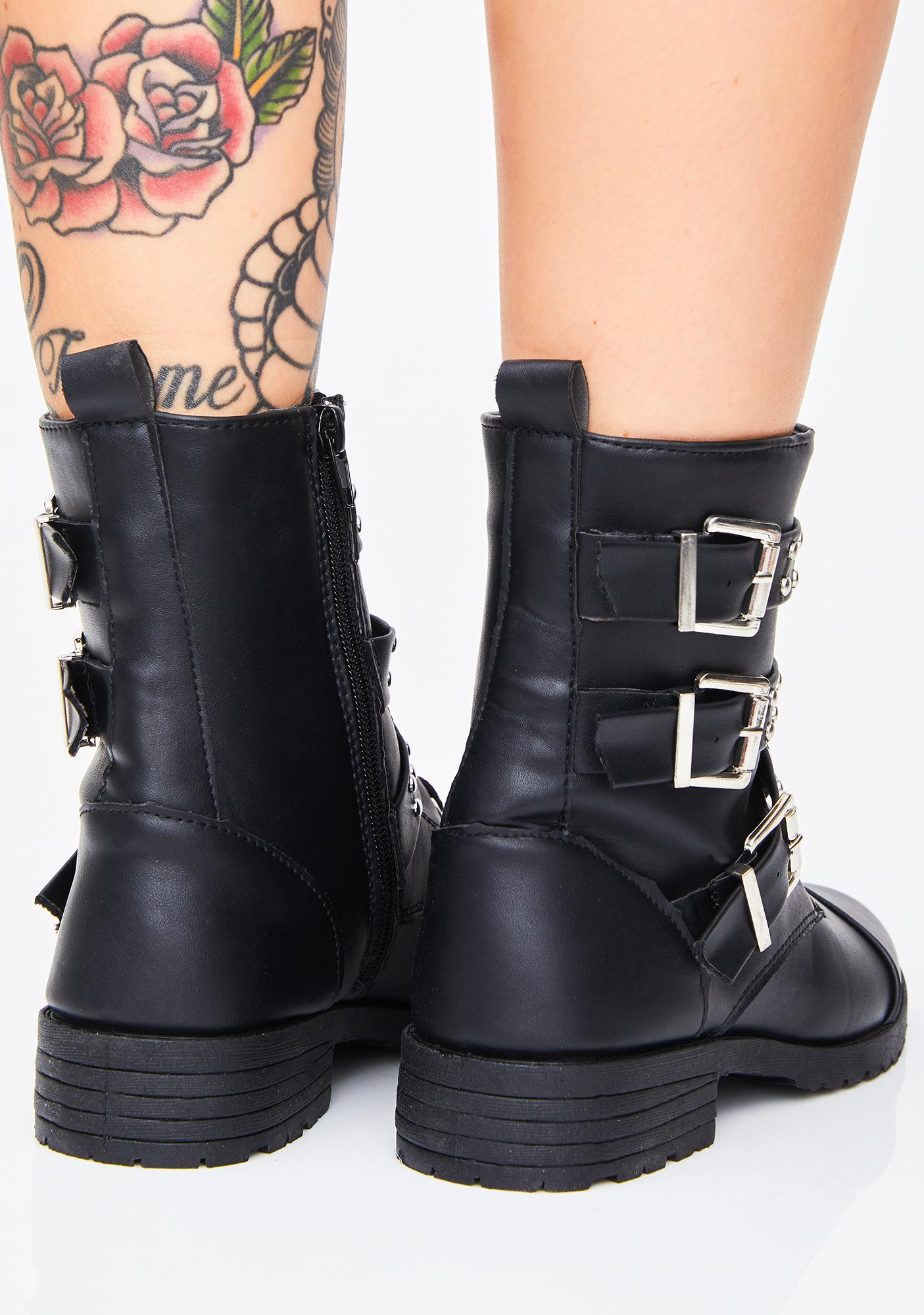 Punk Credibility Ankle Boots