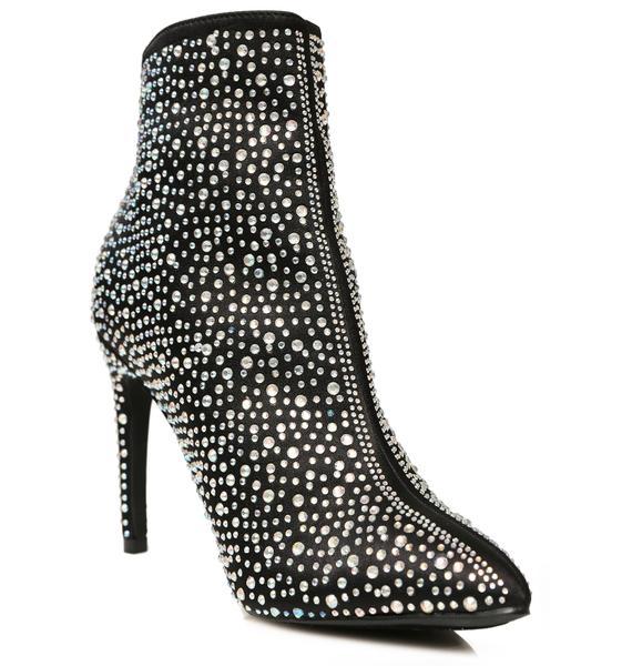 Shine So Bright Rhinestone Boots