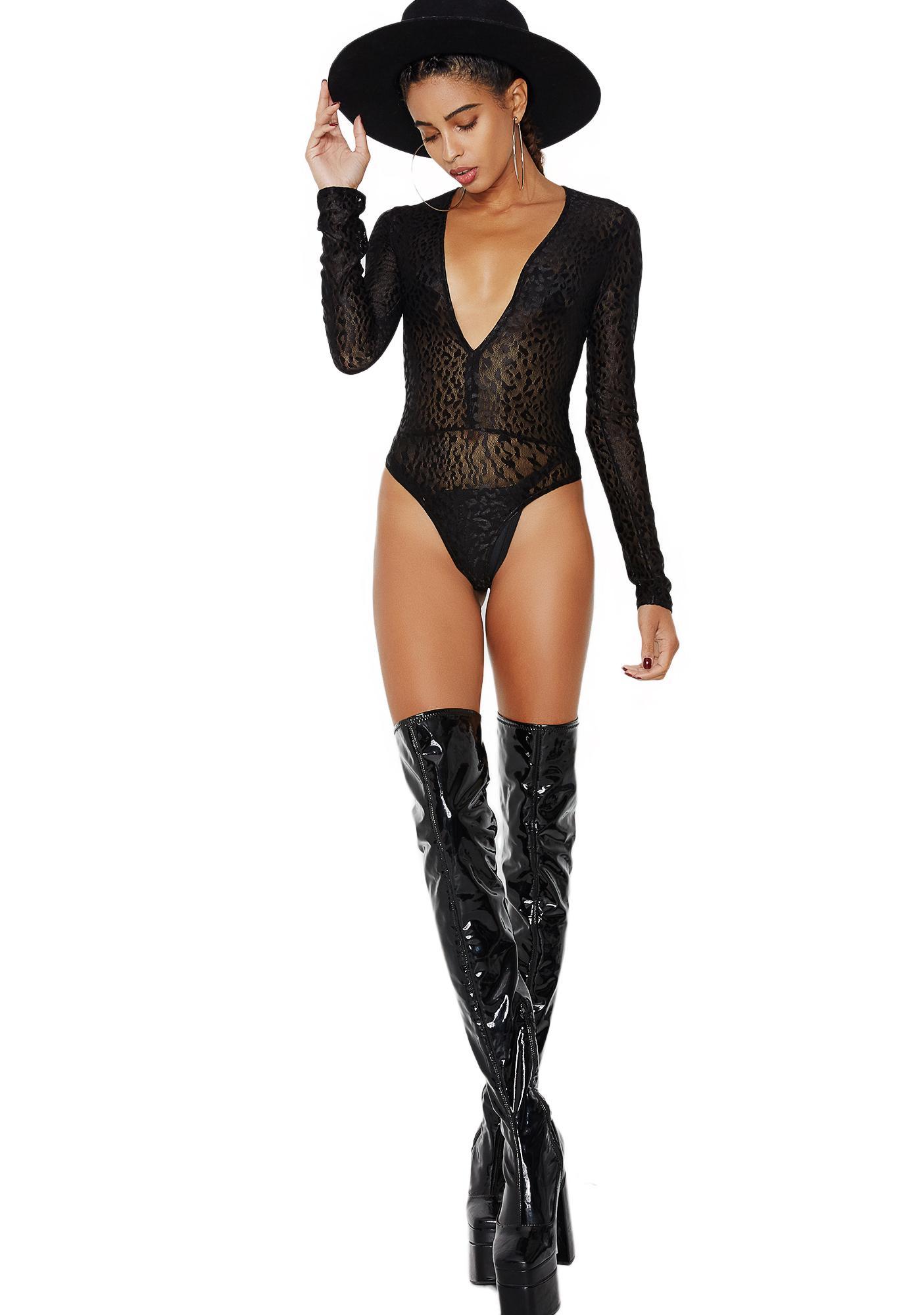 Hellcat Sheer Bodysuit