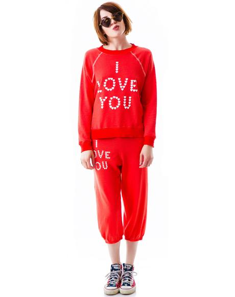 Little Heart Spell Kim's Sweater