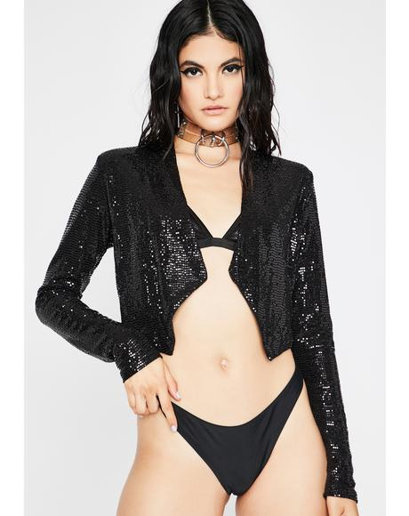 Night Professional Fairy Sequin Jacket