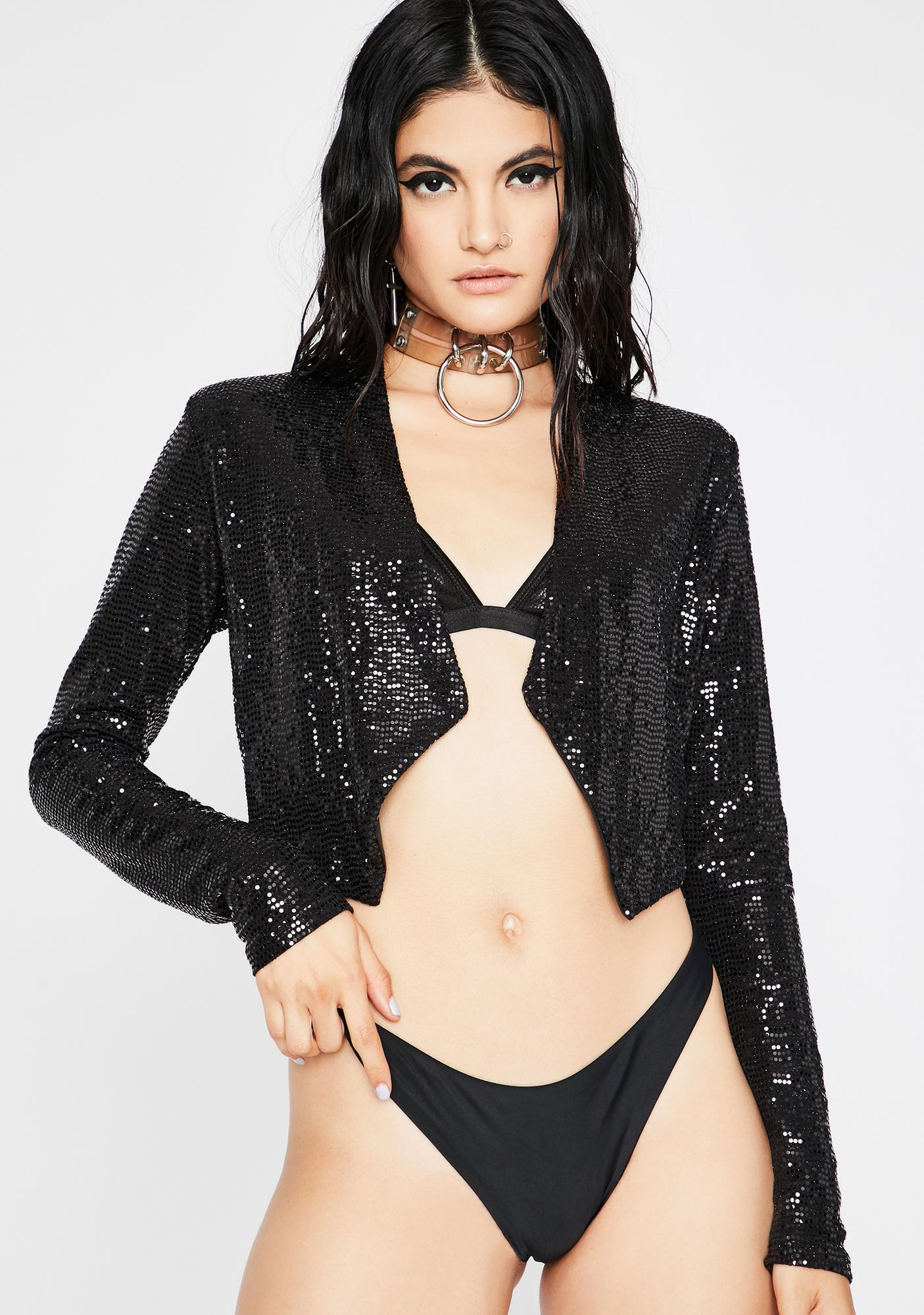 Night Professional Fairy Sequin Jacket