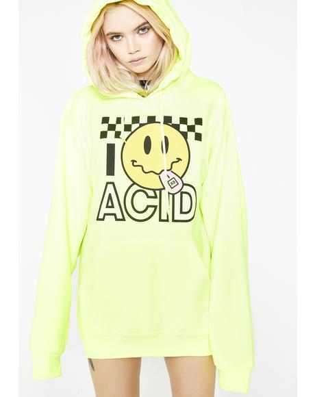 Acid Smiley Hoodie