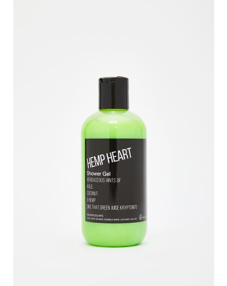 Hemp Heart Shower Gel