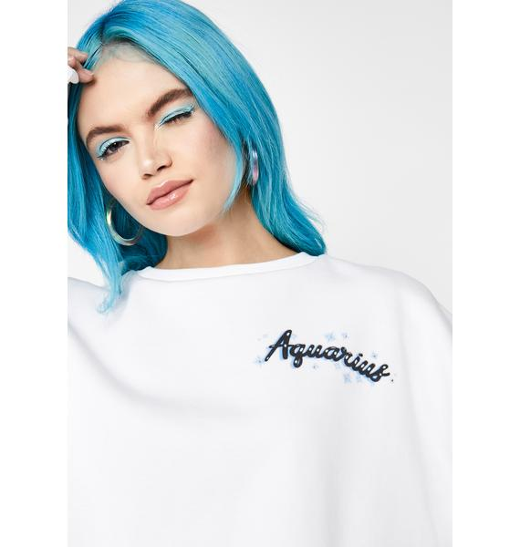 HOROSCOPEZ Rep Your Roots Airbrush Sweatshirt