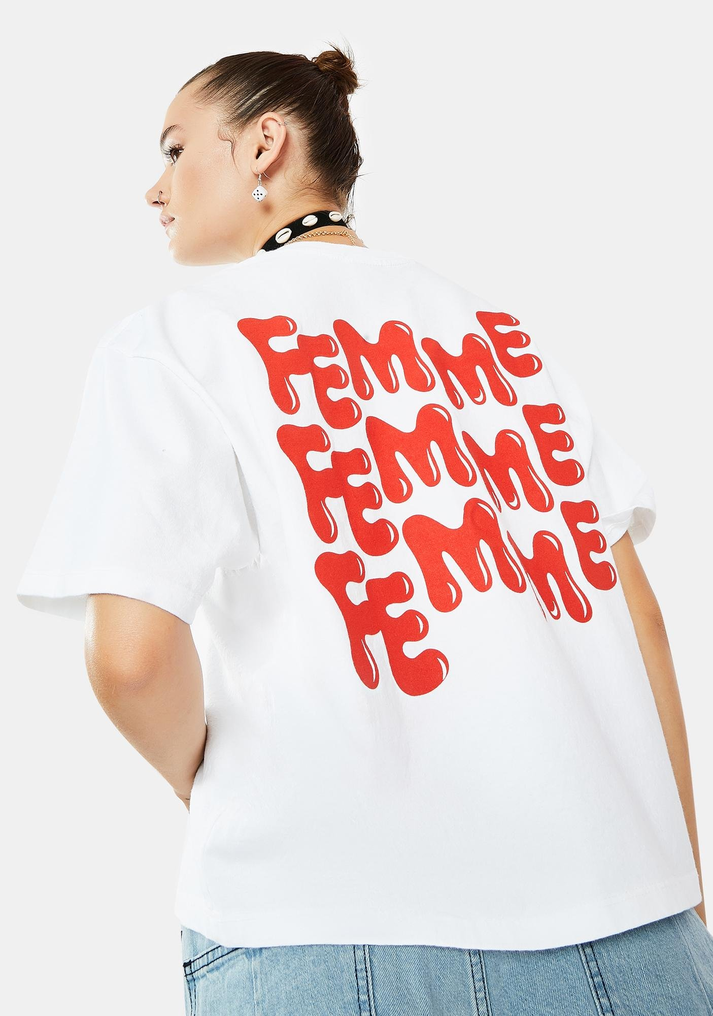 Obey Femme Graphic Tee
