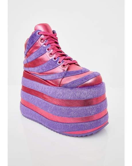 Rave Kitty Platform Sneakers