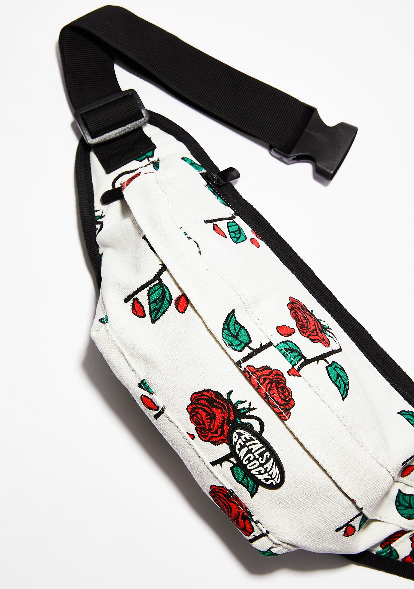 38122d98d0 ... Petals and Peacocks Petals Rose Waist Bag ...