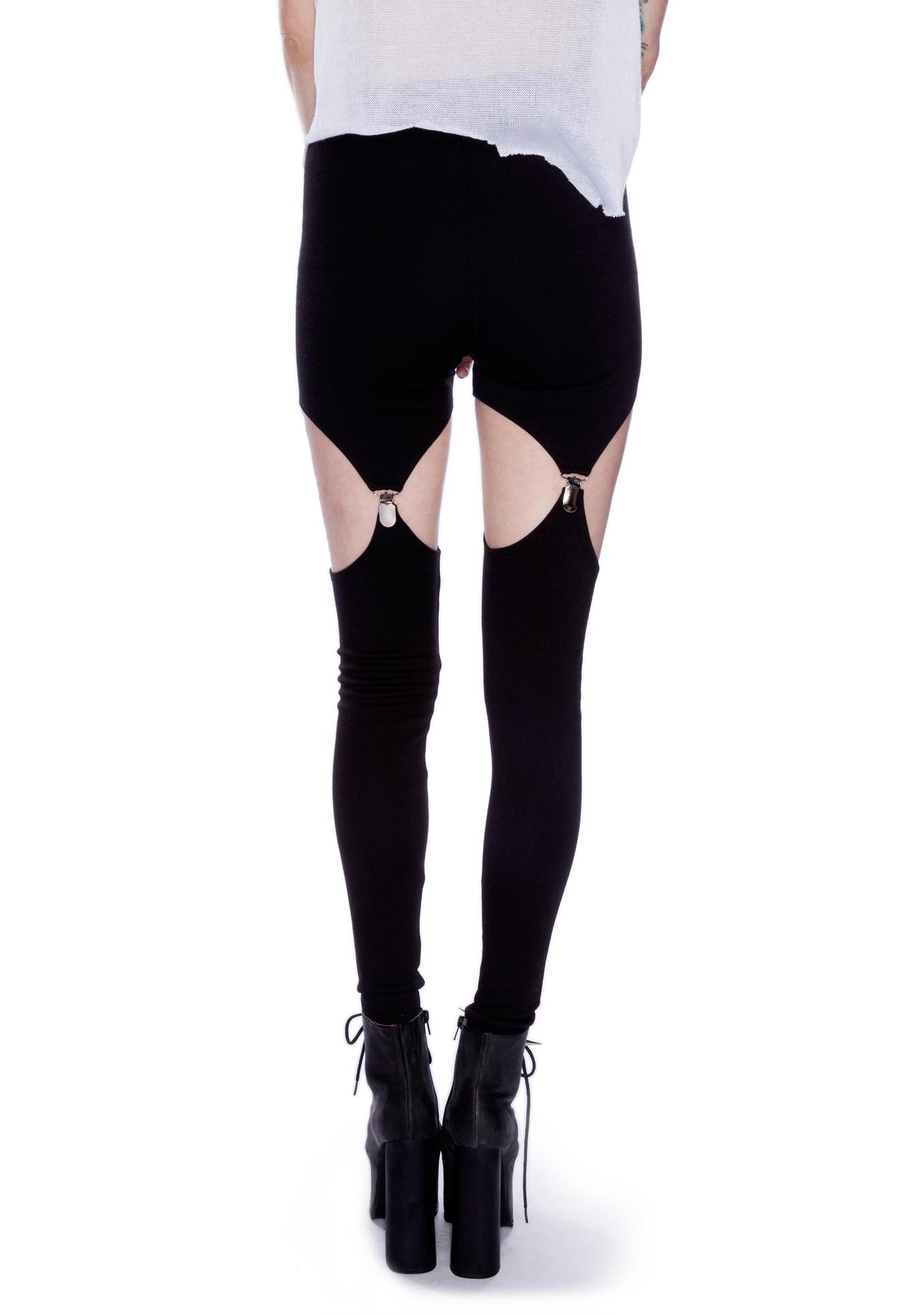 Widow Garter Leggings
