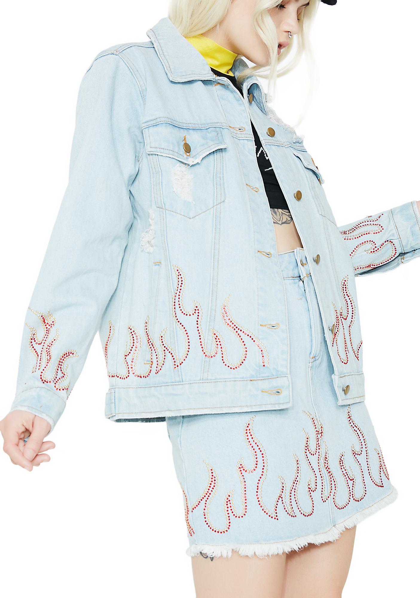 Wildfire Distressed Denim Jacket
