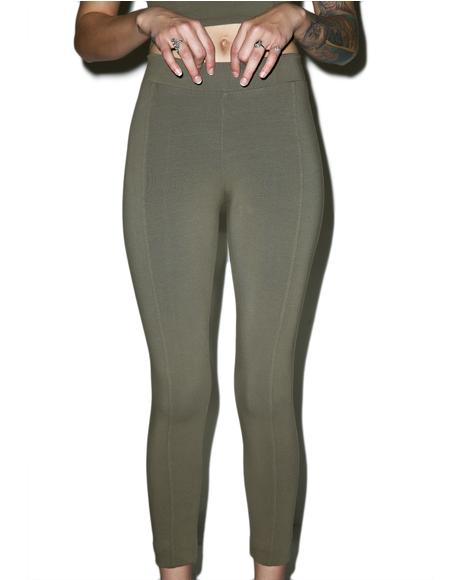 Beech Bark Seam Leggings