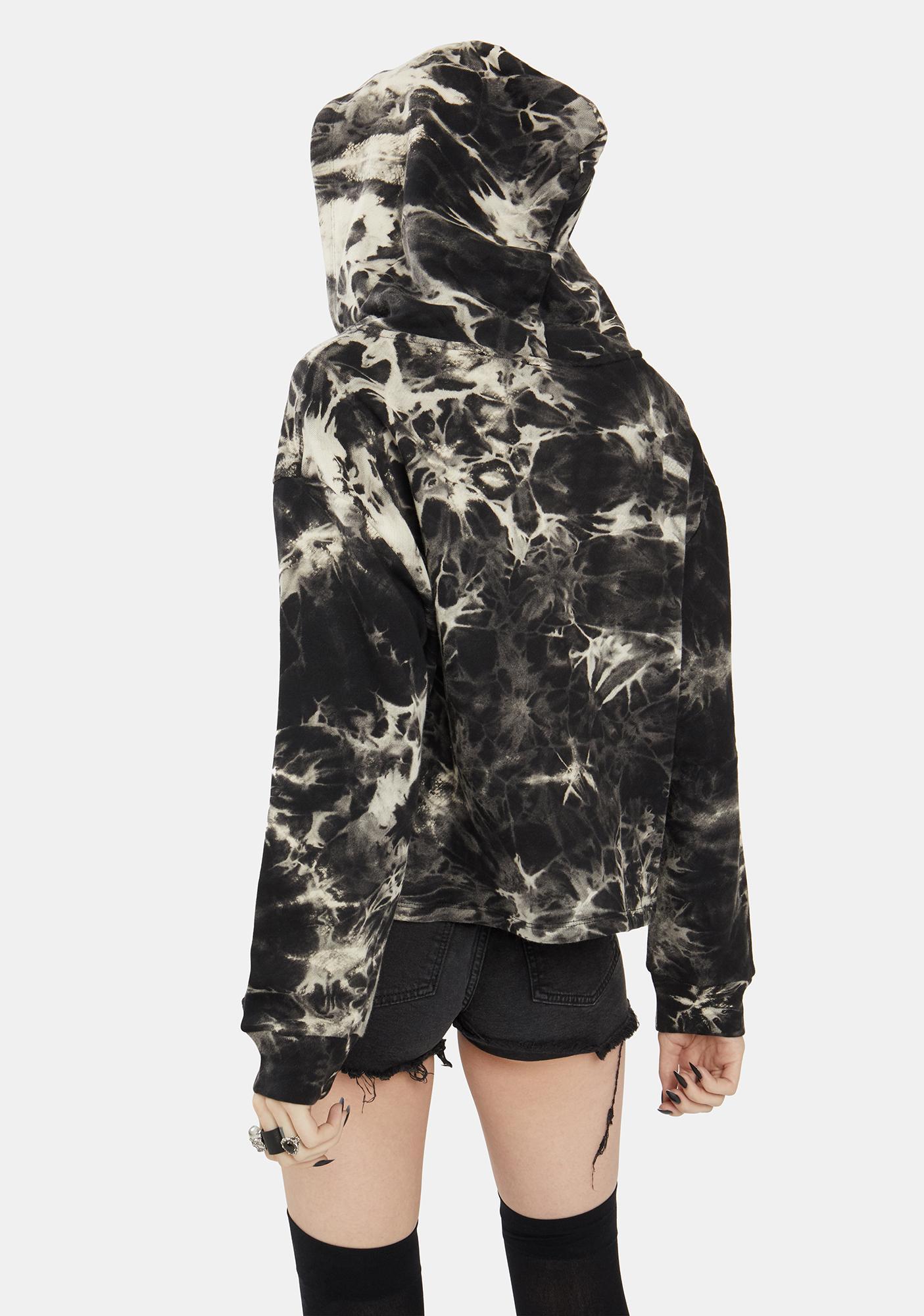 Dress Forum Charcoal Tie Dye Hoodie