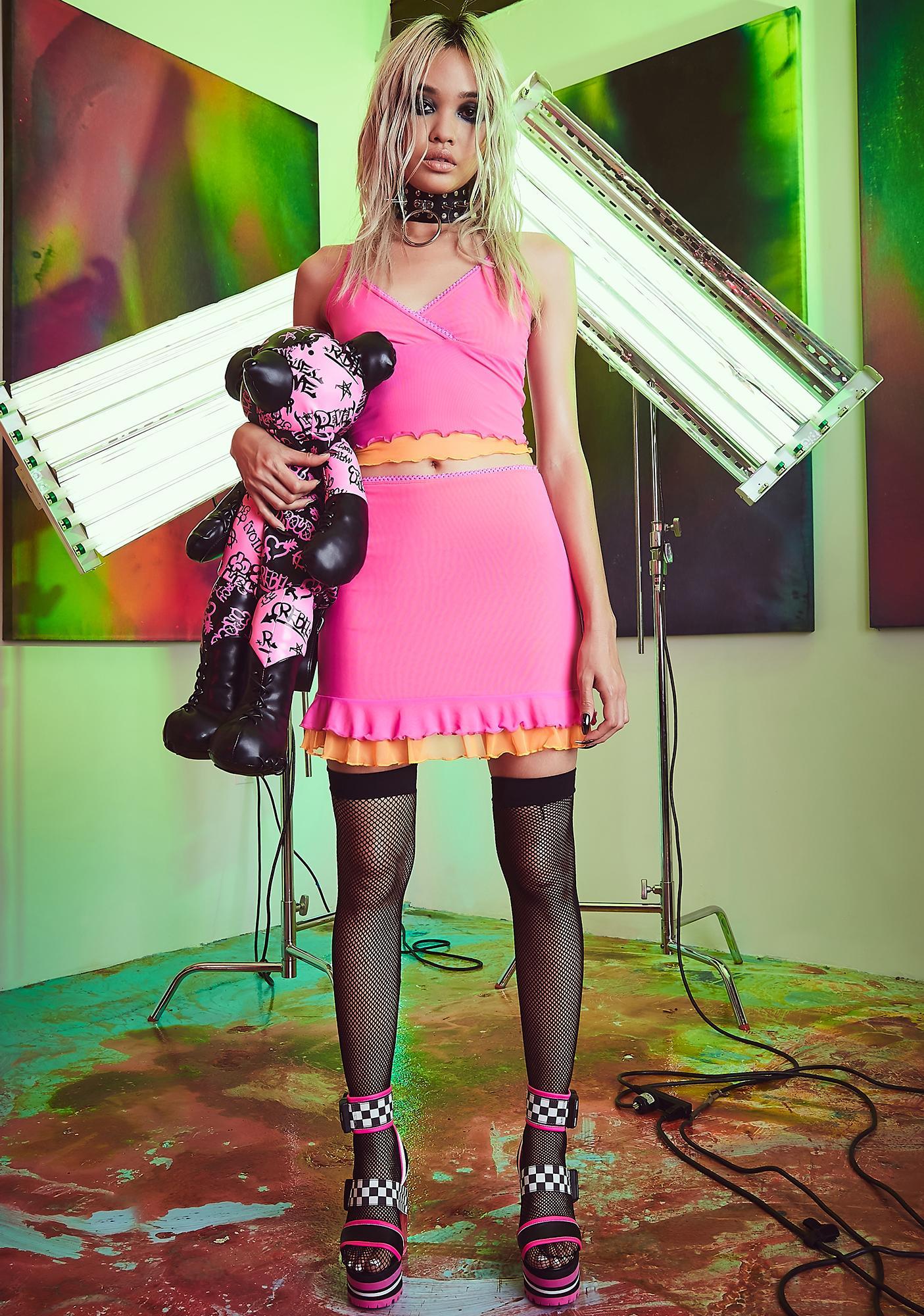 Current Mood Atomic Fairy Mesh Cami