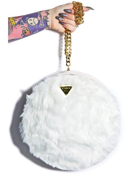 Candy Fur Macaron Bag