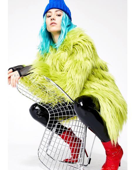 Toxic Spill Fuzzy Coat