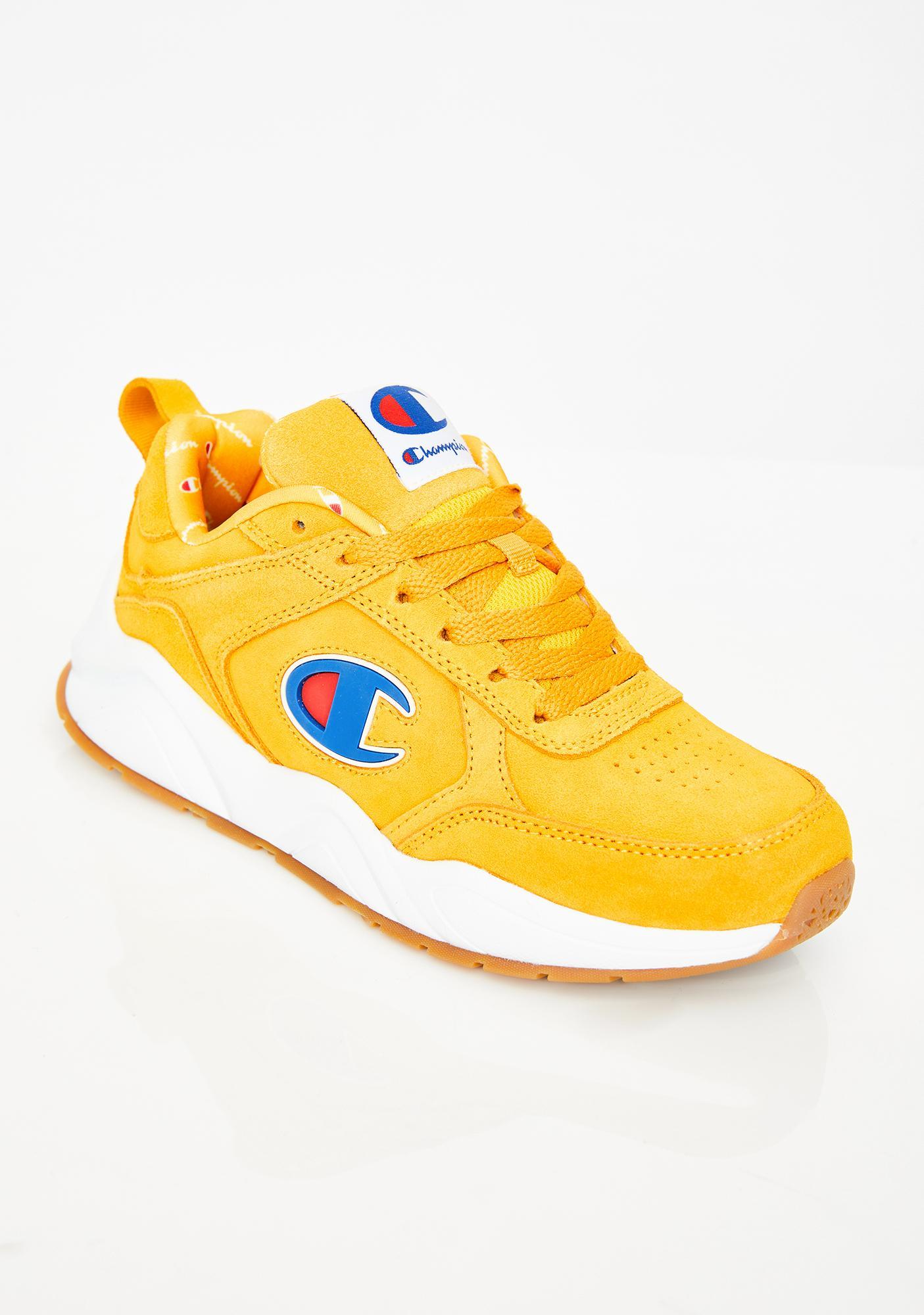 Champion 93Eighteen Suede Logo Sneakers
