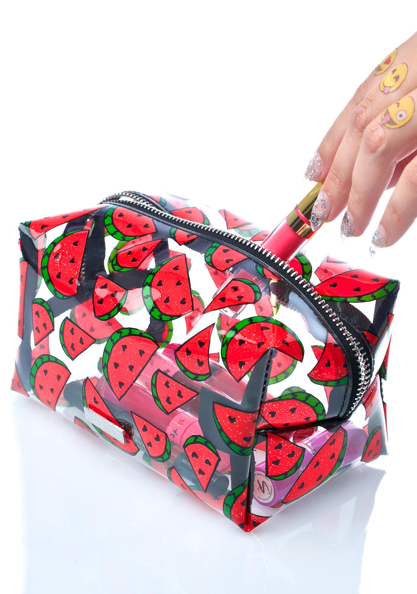 Skinnydip Watermelon Makeup Bag