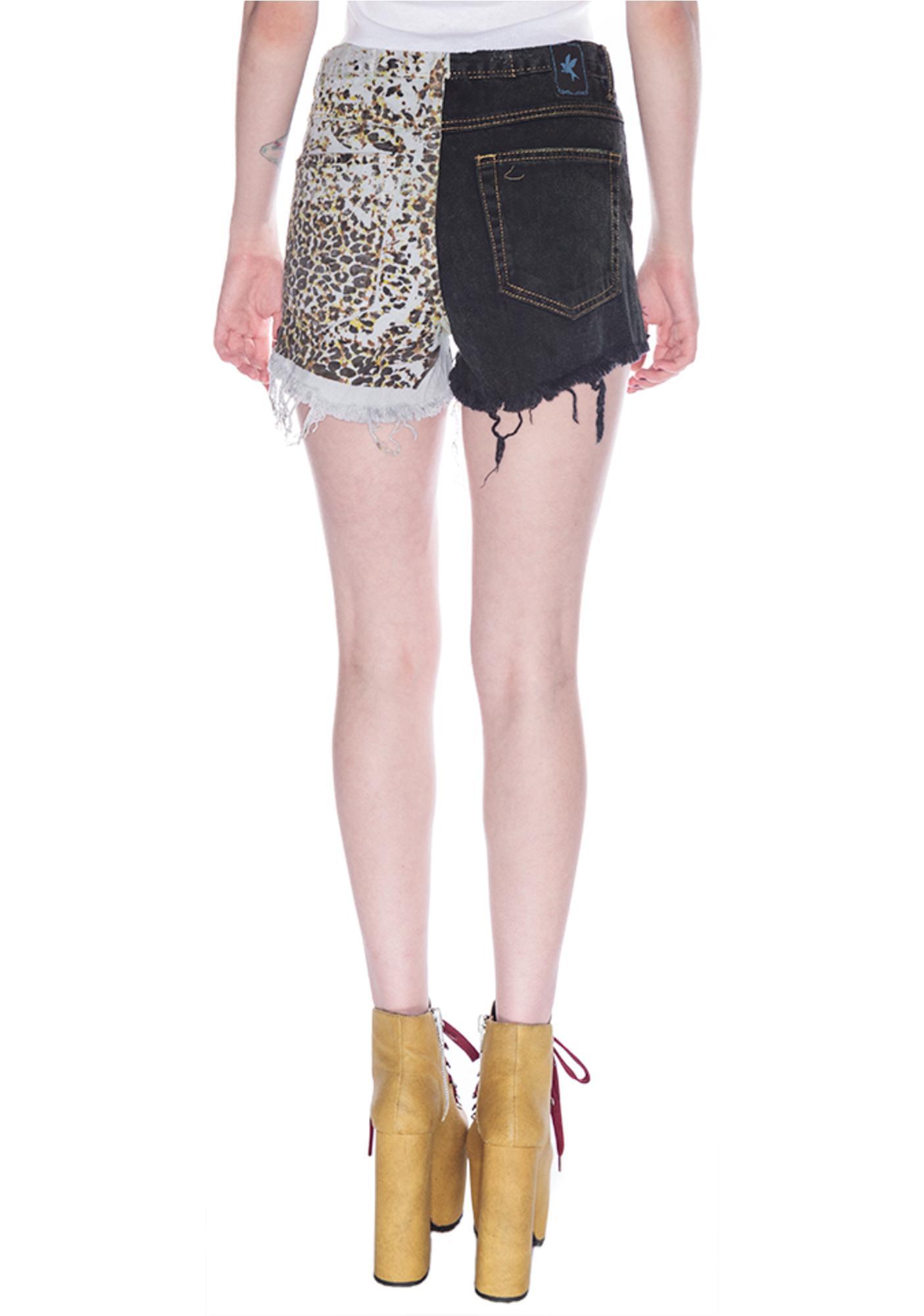 One Teaspoon Domino Romeos Shorts