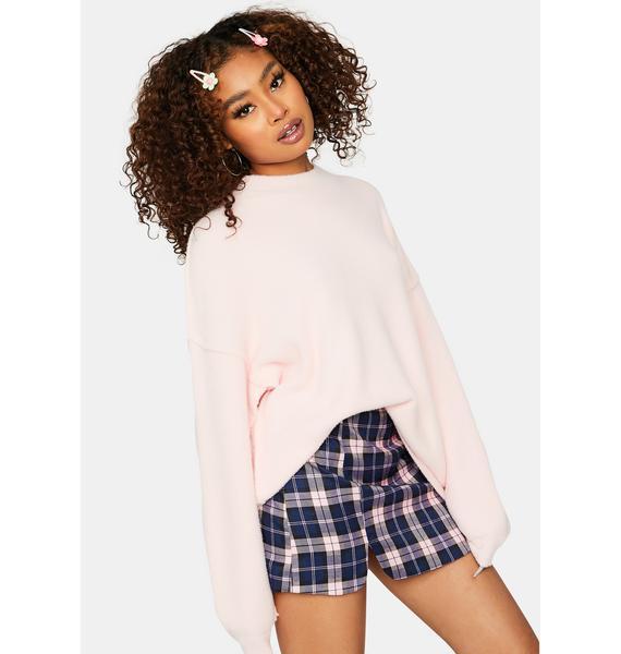 Blush Big Feels Knit Sweater