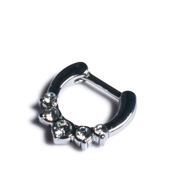 Girl's Best Friend Septum Ring