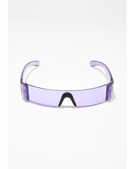 Future Hustle Shield Sunglasses