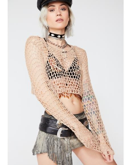 Dream Gypsy Crochet Top