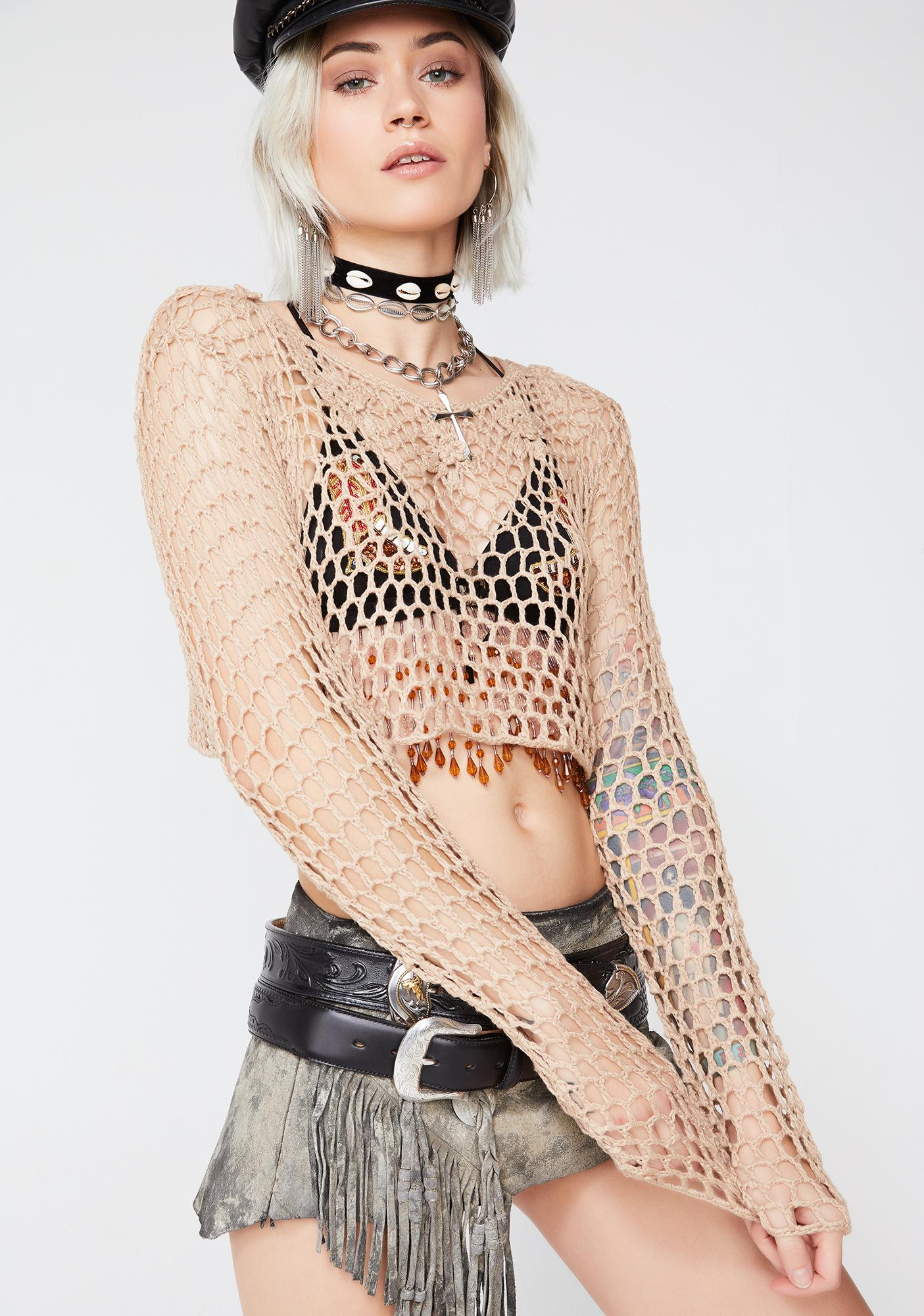 Dream Gypsy Crochet Top