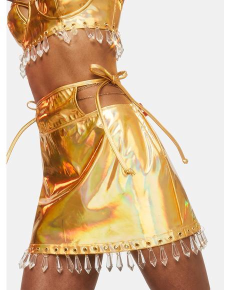 Majestic Warrior Mini Skirt