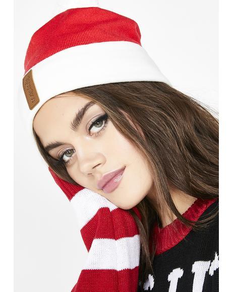 Christmas Santa Beanie