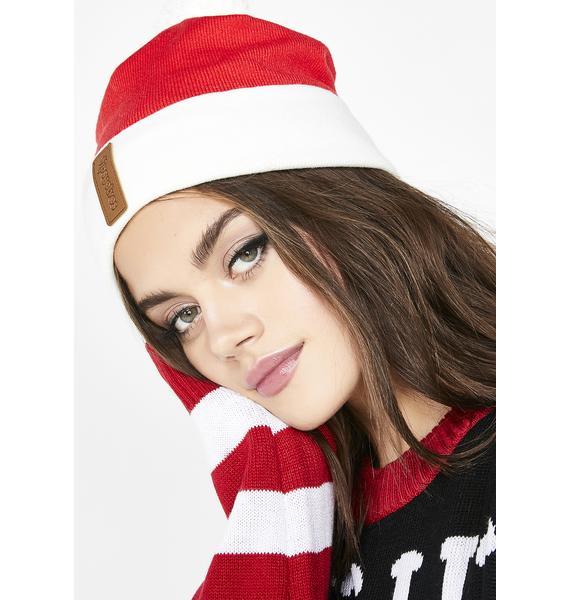Tipsy Elves Christmas Santa Beanie
