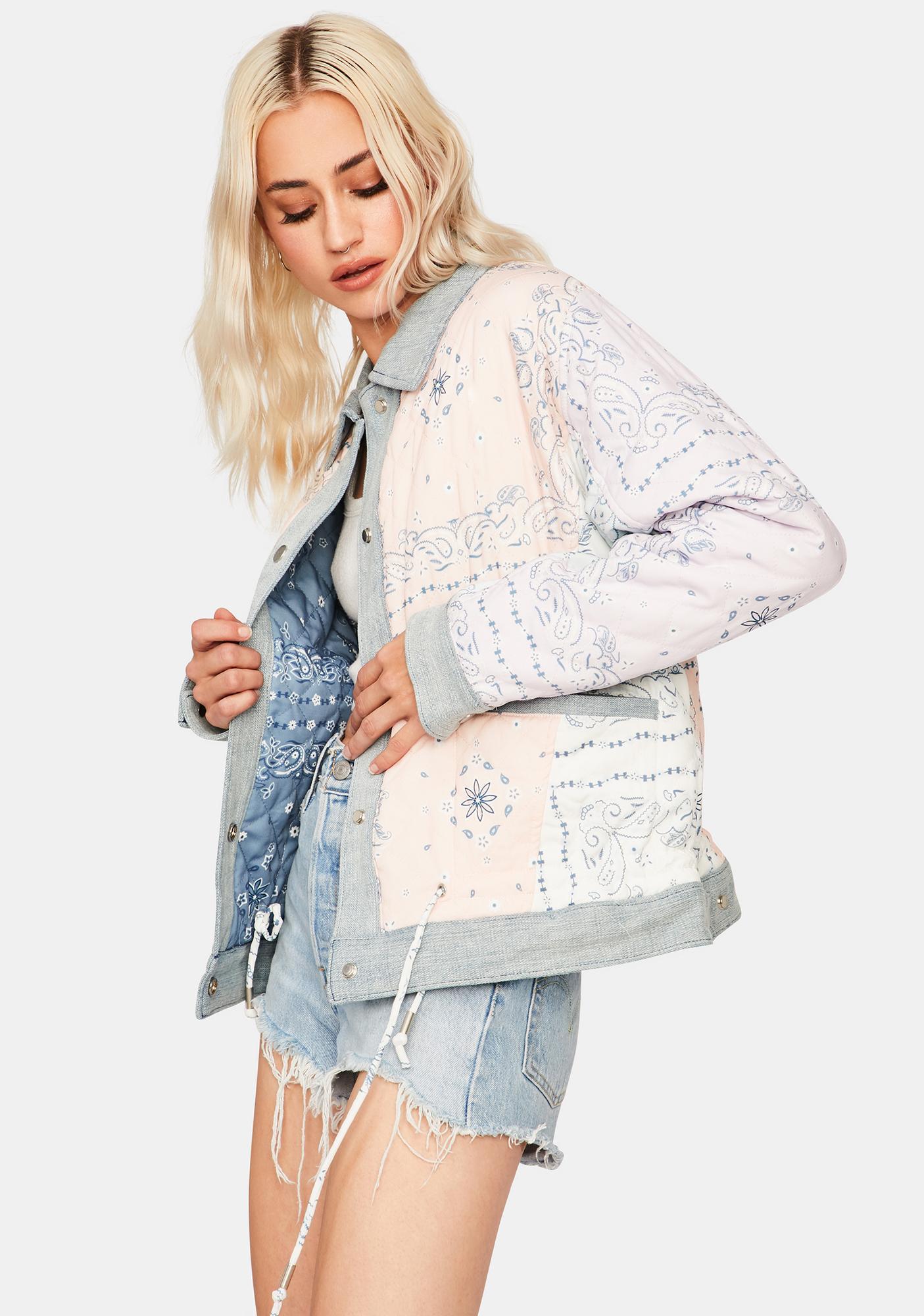 Blank NYC Summer Breeze Dolman Jacket