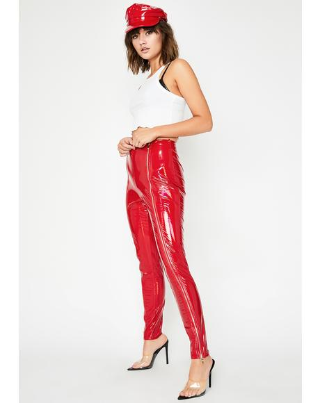 Scarlet Act Up Vinyl Pants