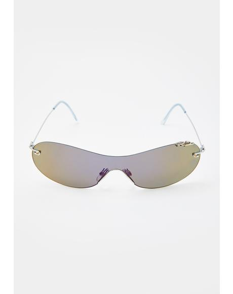 Revo Pierced Shield Sunglasses