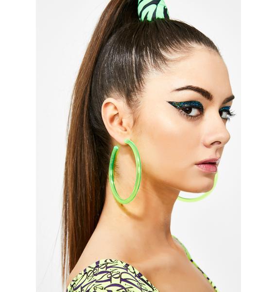 Kush Ravelicious Hoop Earrings