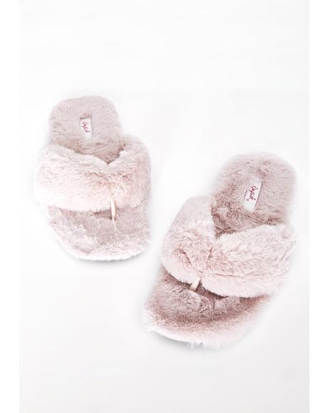Candy Cool Strut Slippers
