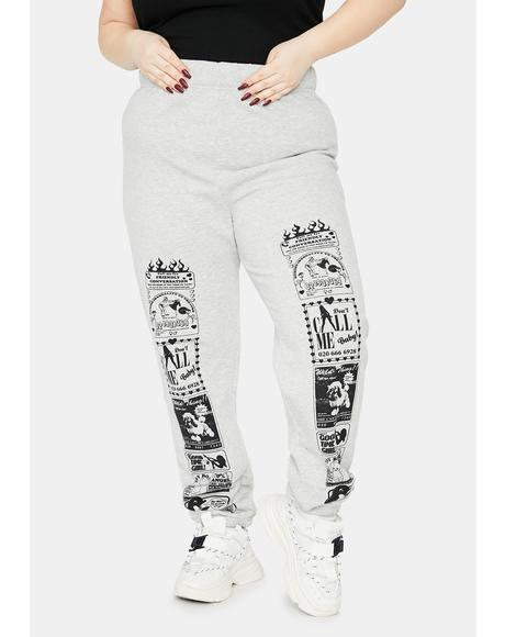 Curve Conversation Jogger Sweatpants