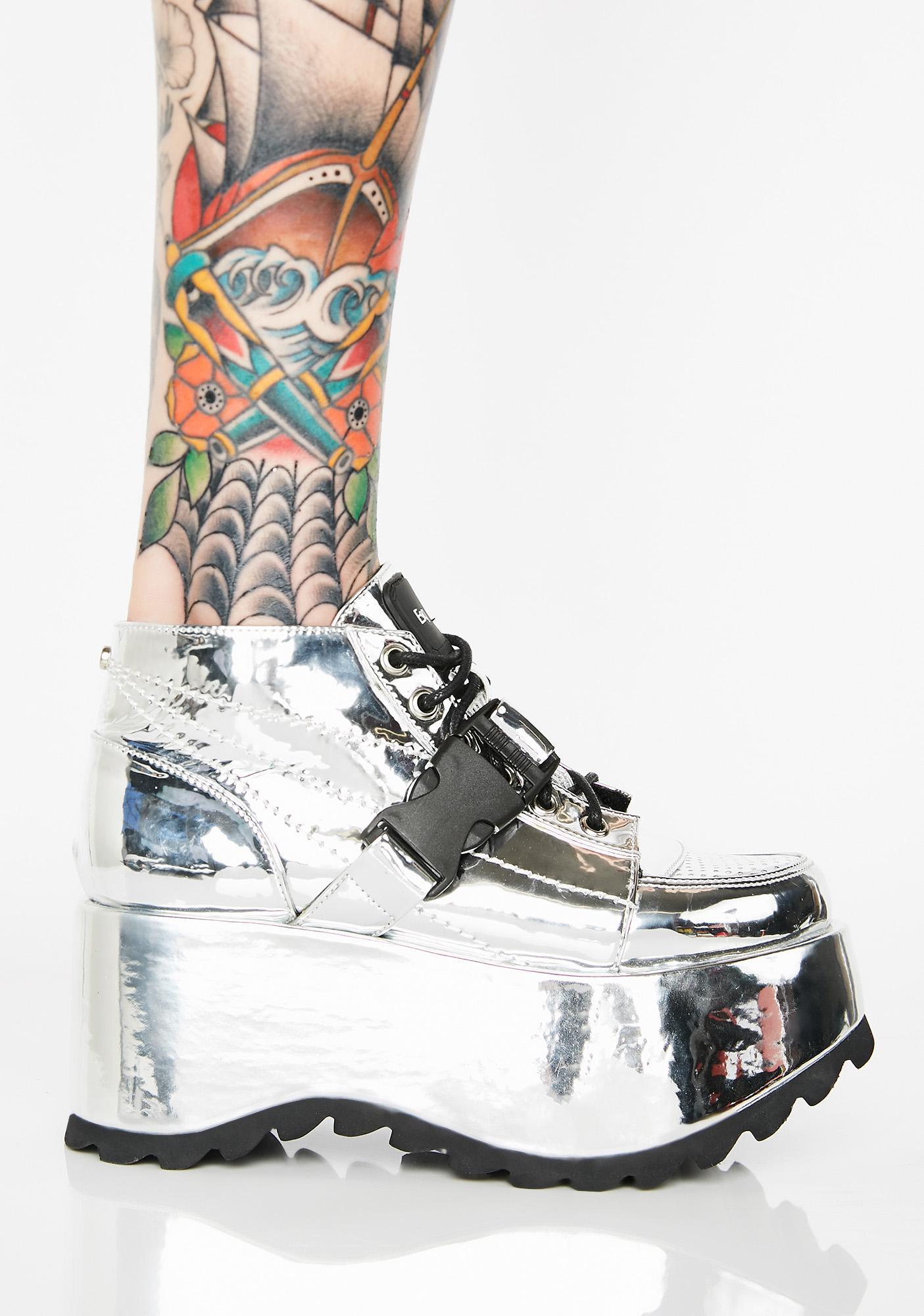 ESQAPE Globe Platform Sneakers