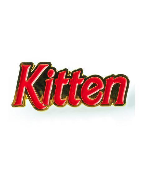 90s Kitten Pin