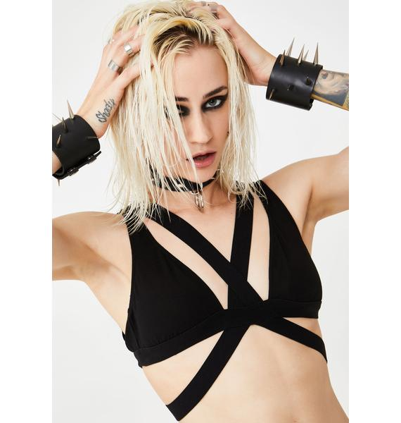 Club Exx Triple X-Rated Bra Top