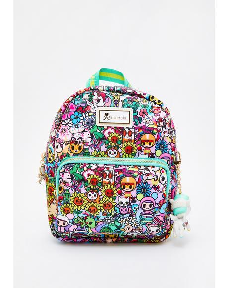 Flower Power Mini Backpack