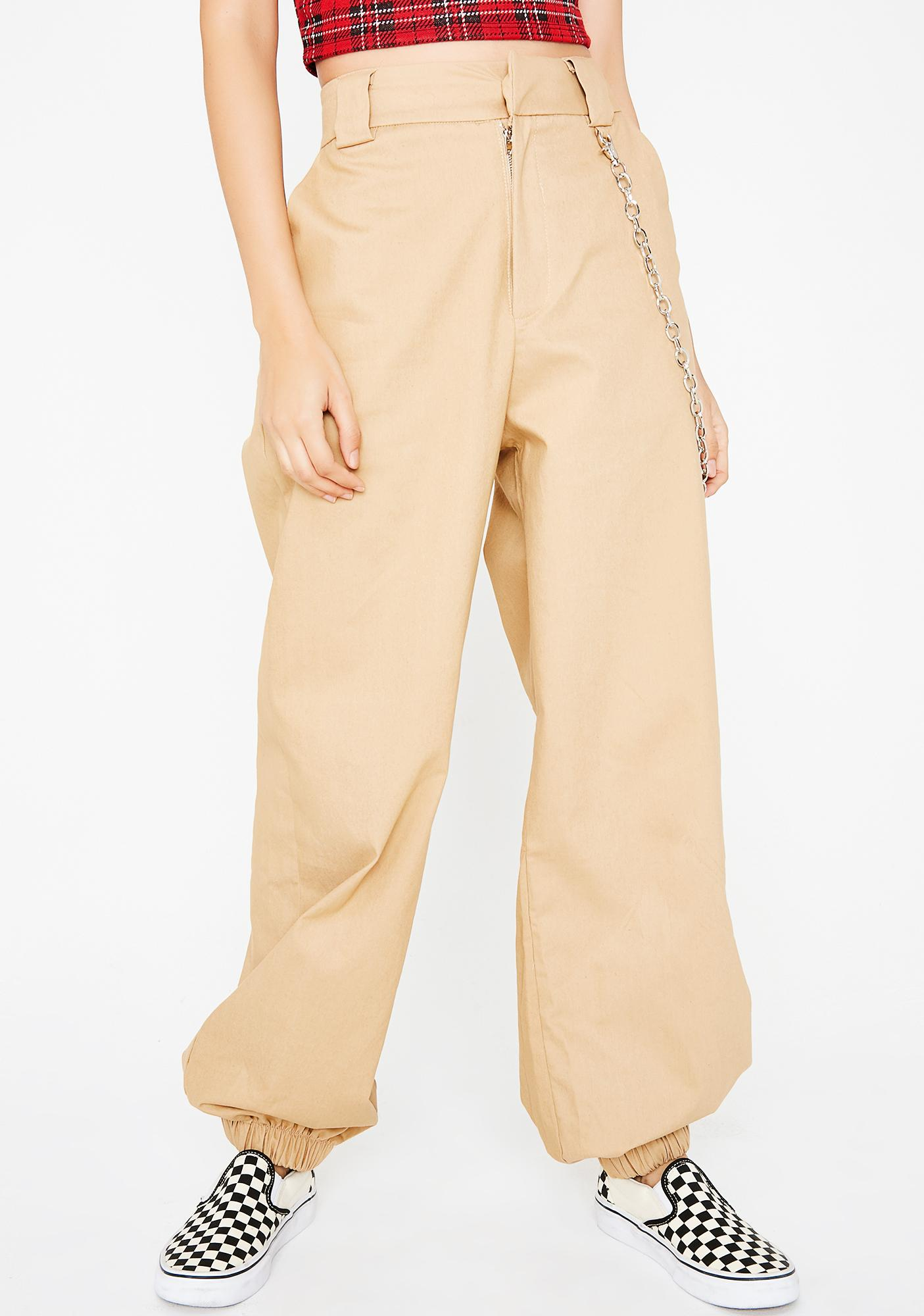 Sand Kim Probable Chain Pants