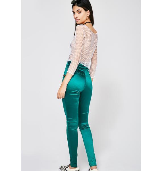 Jade Bright Idea Satin Pants