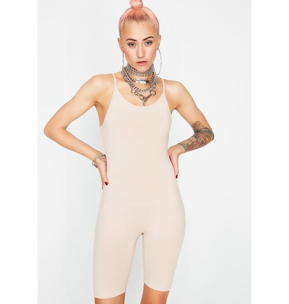 Nude Always Ready Catsuit