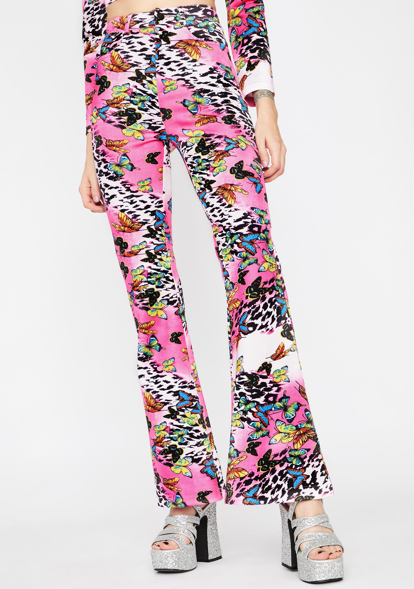Wild Fusion Flared Pants